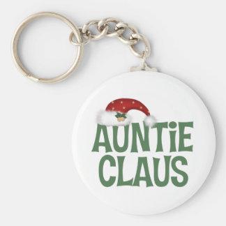Auntie Claus Keychain