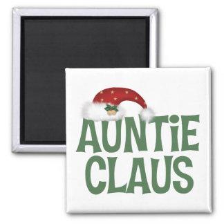 Auntie Claus Magnet