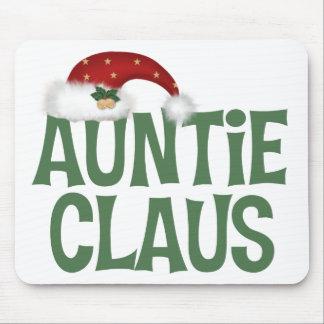 Auntie Claus Mousepad