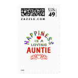 Auntie Happiness Stamps