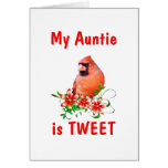 Auntie is Sweet Cards