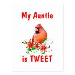 Auntie is Sweet Postcard