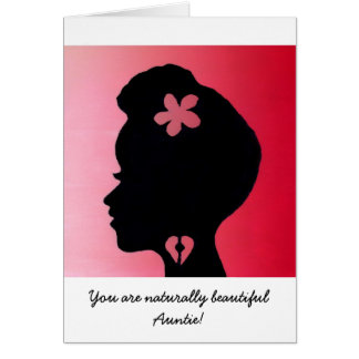 """""""Auntie"""" Mother's Day Card by Alicia L. McDaniel"""