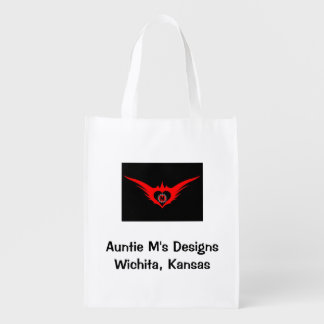 Auntie M's Designs Grocery Bag