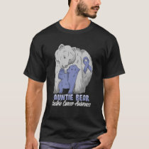 Auntie Of A Child With Gastric Cancer Related Aunt T-Shirt