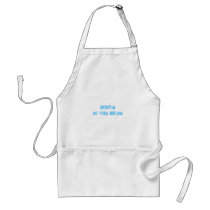 Auntie of the Bride Adult Apron