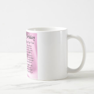 Auntie Poem -  Happy Birthday Coffee Mug