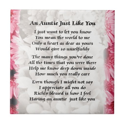 Aunt sayings poems being an aunt quotes sayings quotesgram