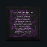 "Auntie Poem - Purple Jewelry Box<br><div class=""desc"">A great gift for an auntie</div>"