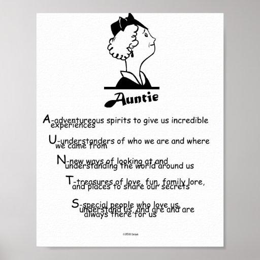 Auntie Poster