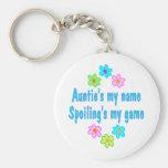 Auntie Spoils Key Chain