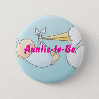 Auntie-to-Be Pinback Button