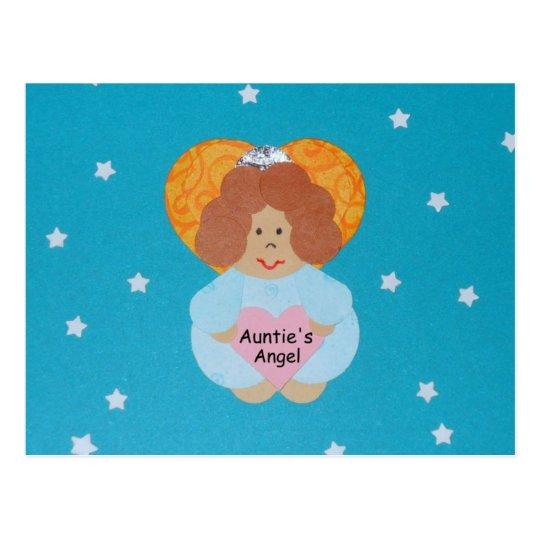 Auntie's Angel Postcard