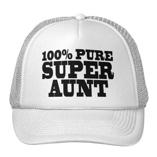 Aunties Birthday Parties : 100% Pure Super Aunt Hat