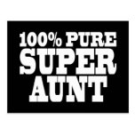 Aunties Birthday Parties : 100% Pure Super Aunt Postcard