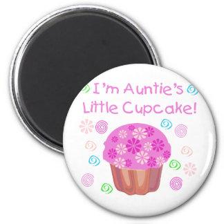 Auntie's Cupcake 2 Inch Round Magnet