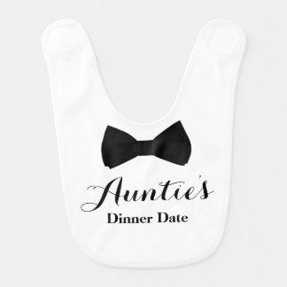 Auntie's Dinner Date Baby Bib