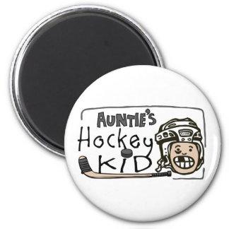 Auntie's Hockey Kid Magnet