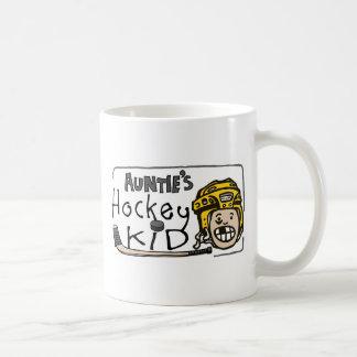 Auntie's Hockey Kid Mugs
