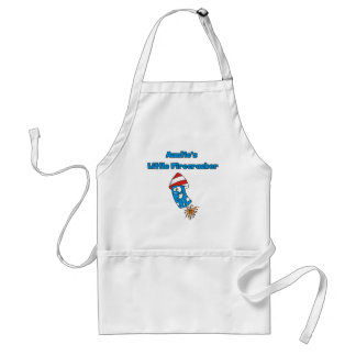Auntie's Little Firecracker T-shirts and Gifts Adult Apron