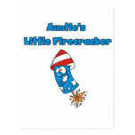 Auntie's Little Firecracker T-shirts and Gifts Postcard