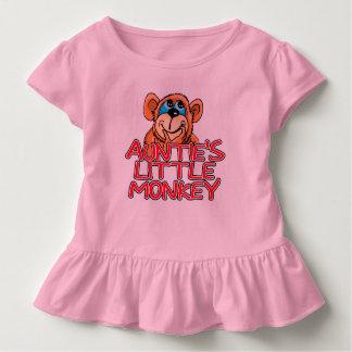 Auntie's Little Monkey Toddler T-shirt