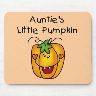 Auntie's Little Pumpkin Tshirts and Gifts Mousepads