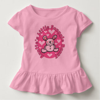 Auntie's Little Snuggle Bunny Toddler Ruffle Tee