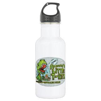 Auntie's Little T Rex Oval Water Bottle