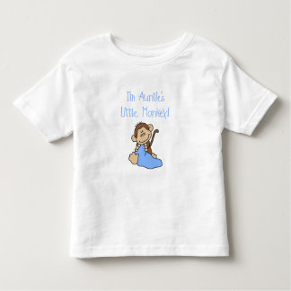 Auntie's Monkey - Blue Tshirts and Gifts