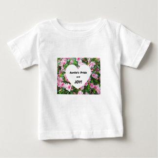 Auntie's Pride and JOY! Baby T-Shirt