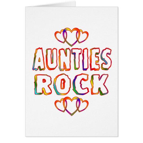 Aunties Rock Card