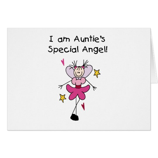 Auntie's Special Angel Card