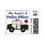 Aunt's A Police Officer Stamp