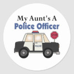 Aunt's A Police Officer Stickers