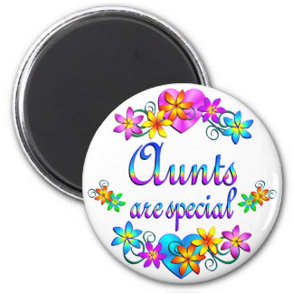 Aunts are Special 2 Inch Round Magnet