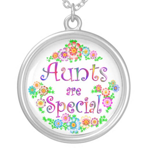 AUNTS are Special Round Pendant Necklace