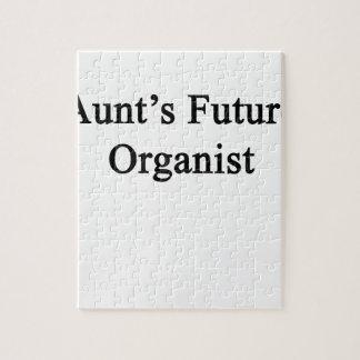 Aunt's Future Organist Jigsaw Puzzle