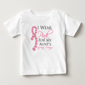 Aunt's Inspiring Courage - Breast Cancer Tshirts