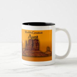 Aunt's Loving Hands Gold Mug