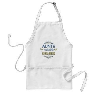 Aunts Make Life Golden Aprons