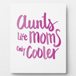 AUNTS PLAQUE