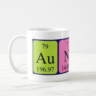 Aunty periodic table name mug