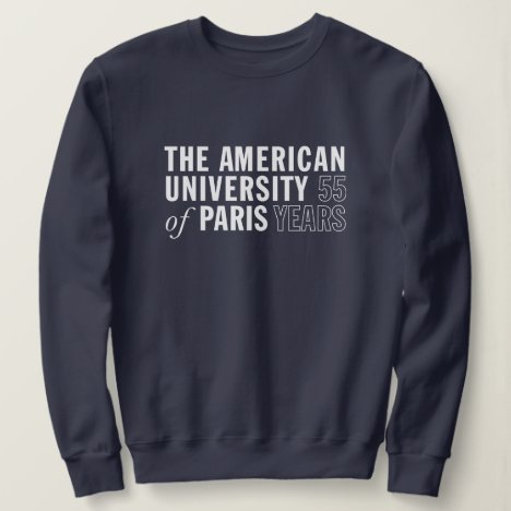 AUP Logo Crew-neck Sweatshirt - Blue