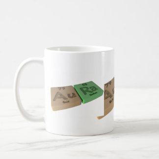 Aura as Gold Au and Radium Ra Coffee Mug