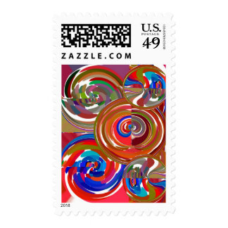 Aura Cleaning Circles - Reiki Meditation Mandala 7 Stamps