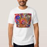 Aura Cleaning Circles - Reiki Meditation Mandala 7 Tee Shirt