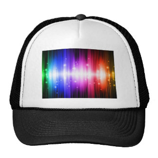 aura crazy color attack trucker hats