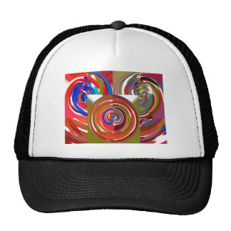 Aura Cycles - Color Therapy n Meditation Mandala 1 Mesh Hat