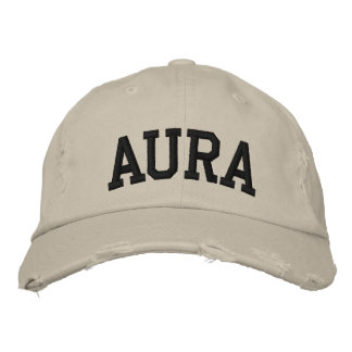 Aura Embroidered Hat Embroidered Hat